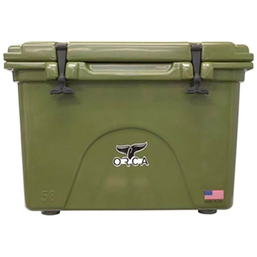 Orca Hard Sided Classic Cooler  <br>  Green 58 Quart
