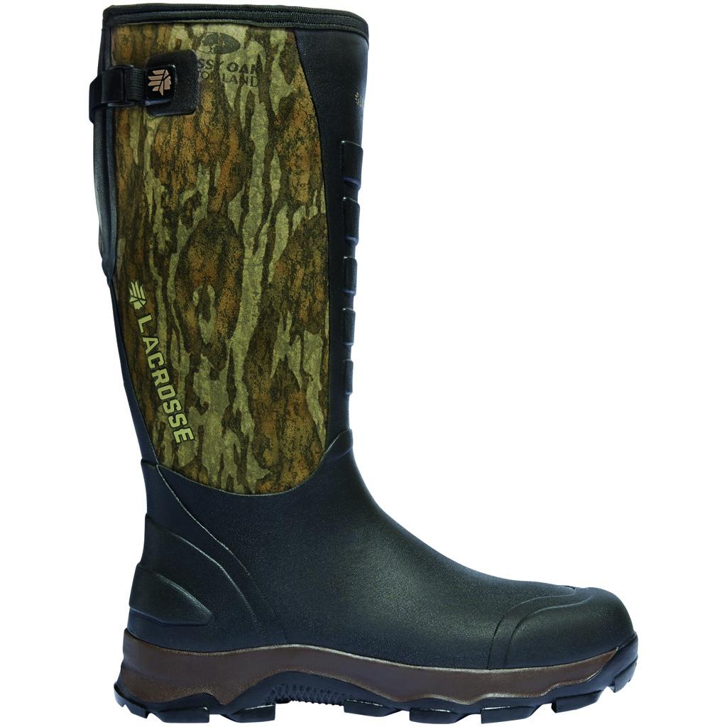 LaCrosse 4X Alpha Boot  <br>  Mossy Oak Bottomland 7mm Size 10