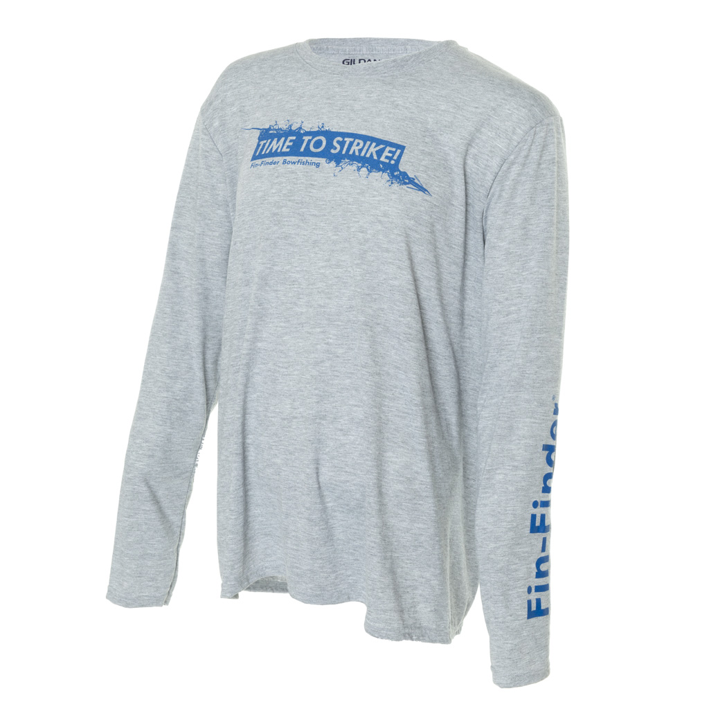 Fin-Finder Time to Strike Long Sleeve Performance  <br>  Shirt Large