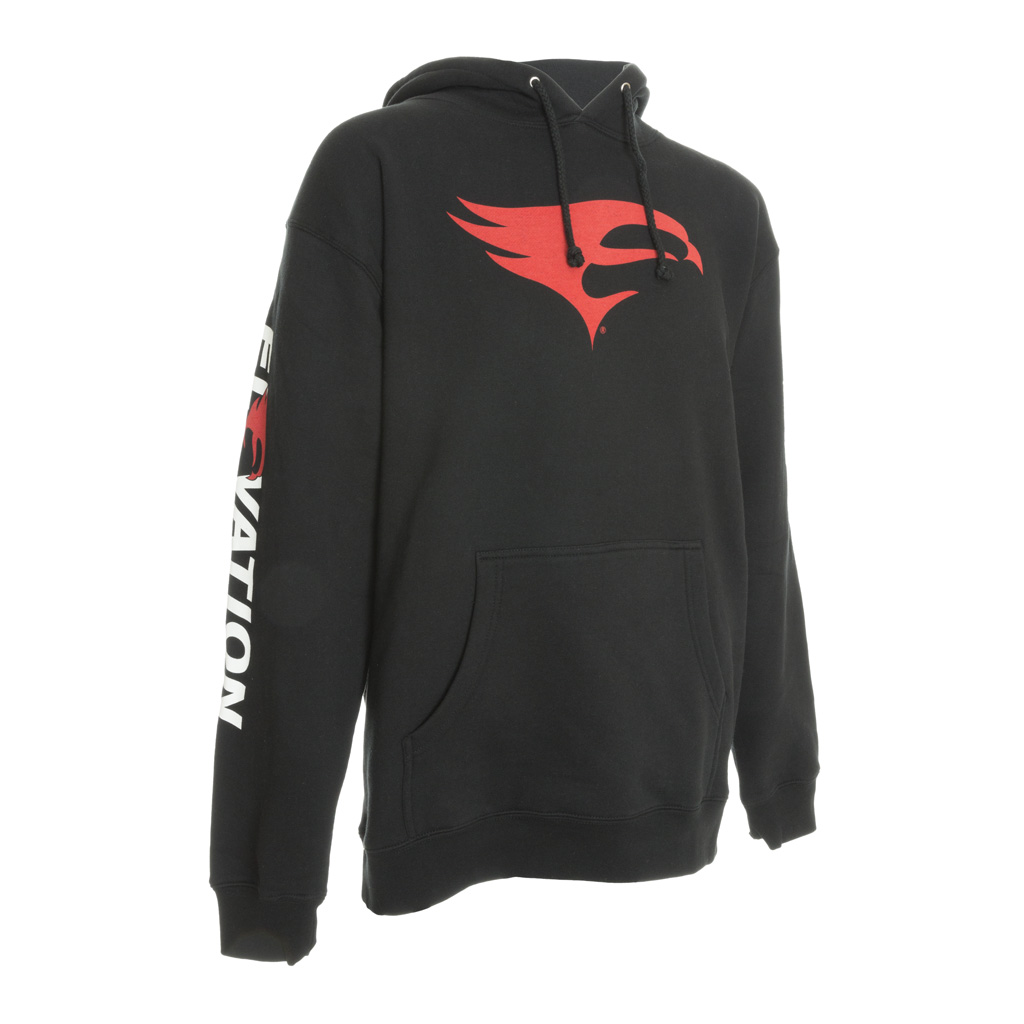 Elevation Archery Pro-Staff Hoody  <br>  Black Large