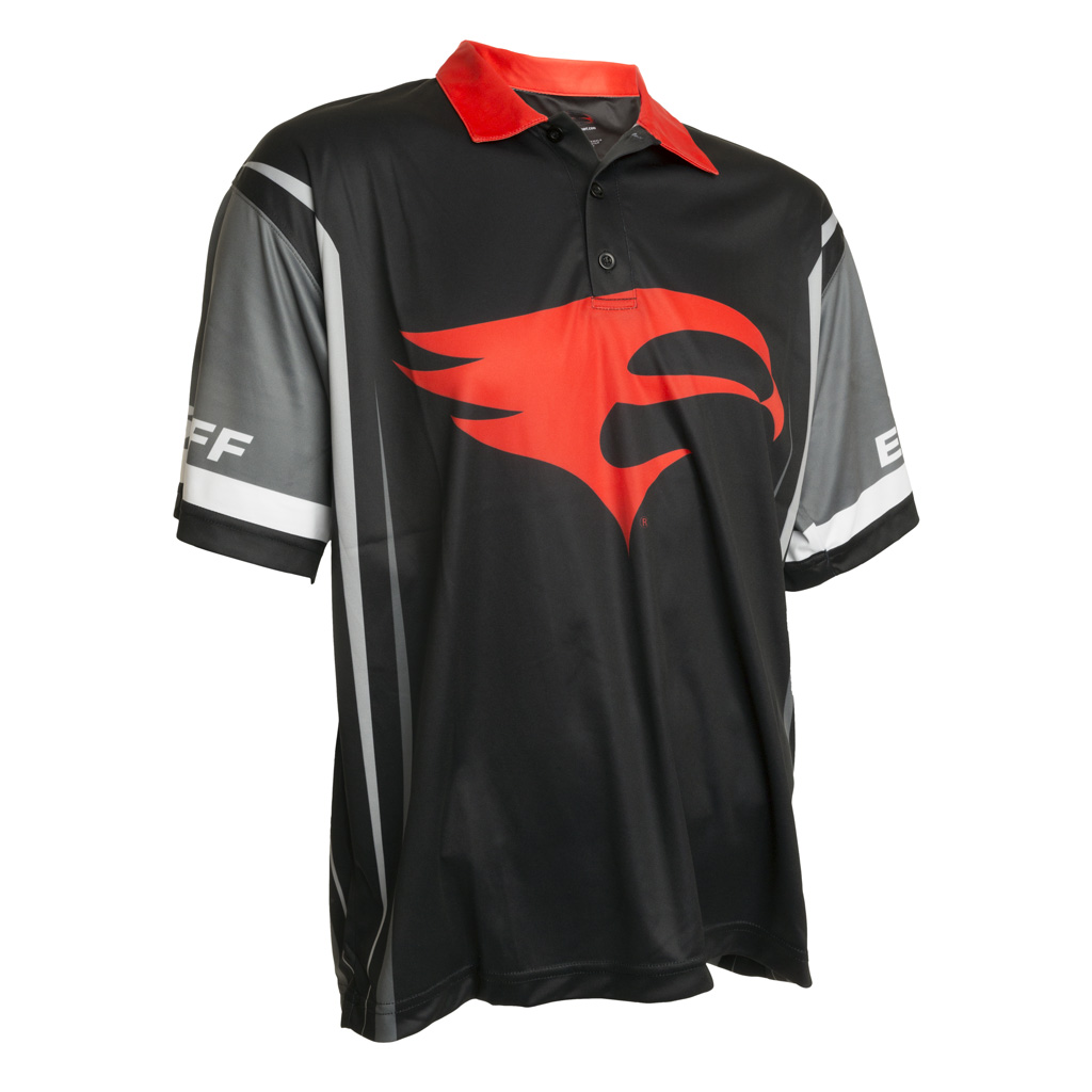 Elevation Pro Shooter Jersey  <br>  Black/Gray/Red Large