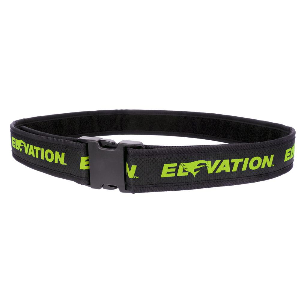 Elevation Pro Shooters Belt  <br>  Green 28-46in.