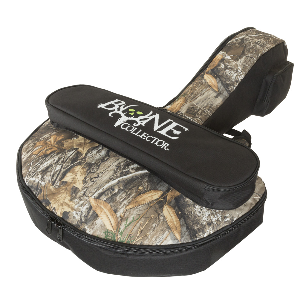 October Mountain Bone Collector Compact  <br>  Crossbow Case Black/RealTree Edge