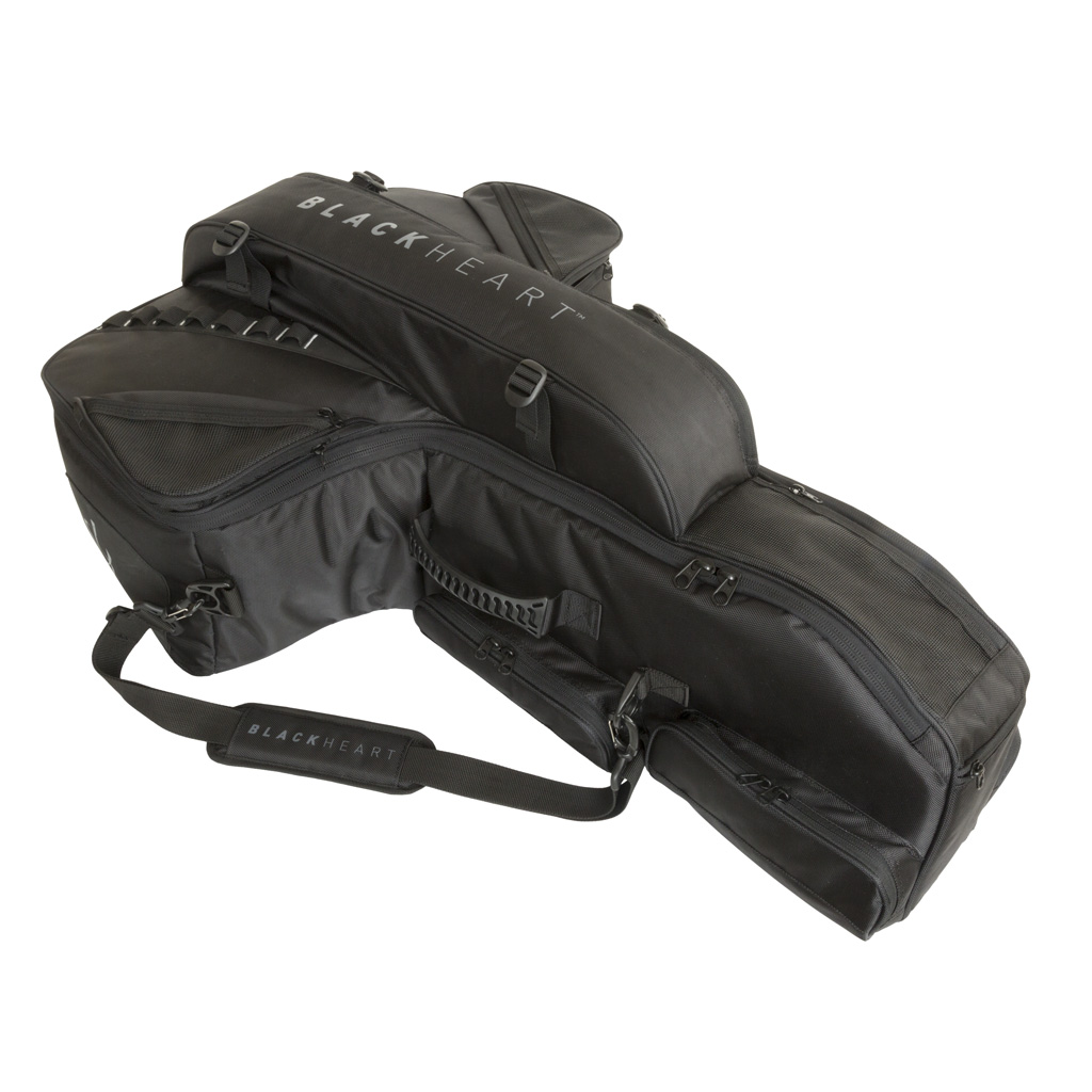 BlackHeart Chamber Crossbow  <br>  Case Black/Black