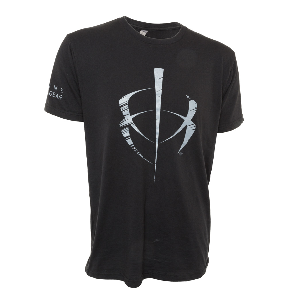 BlackHeart Distressed Icon Tee  <br>  Black Large