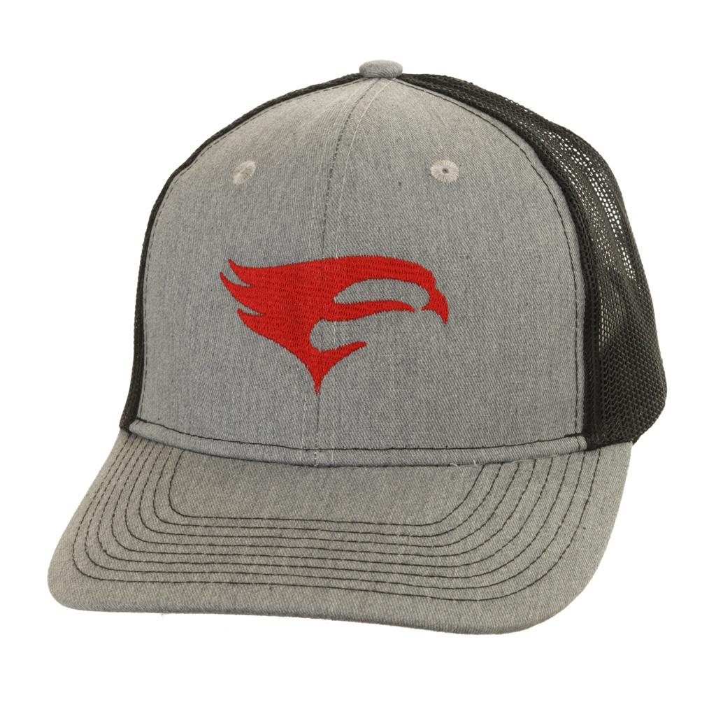 Elevation Trucker Hat  <br>  Light Grey/Black