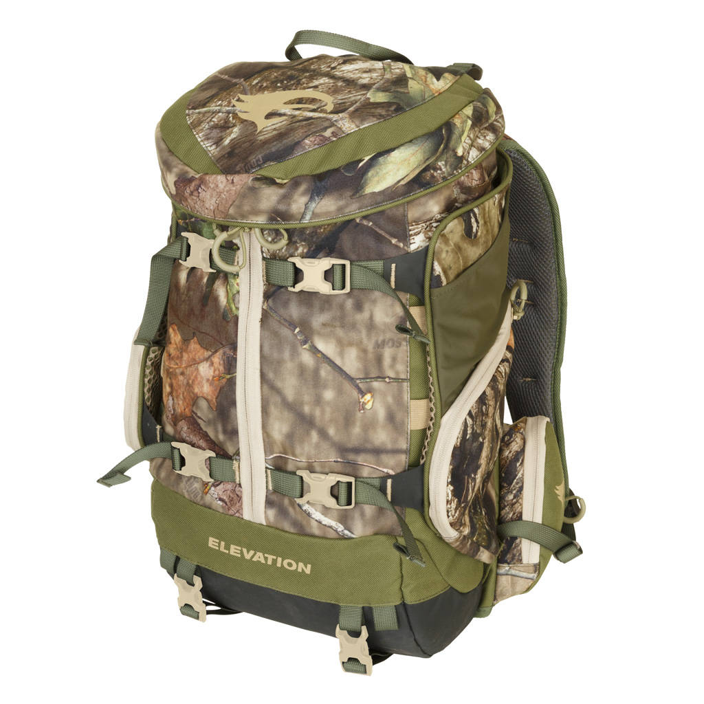 Elevation Hunt Canopy Tri-Zip 1200 Pack  <br>  Mossy Oak Country