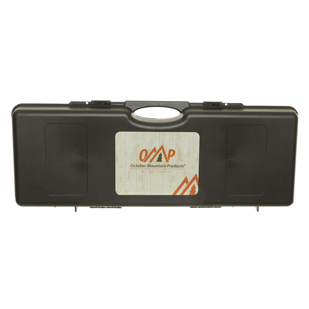 October Mountain Take-Down Recurve Hard Bow Case  <br>  Black