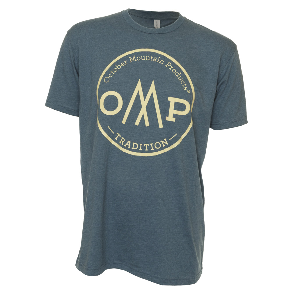 October Mountain Tradition Tee  <br>  Indigo Small
