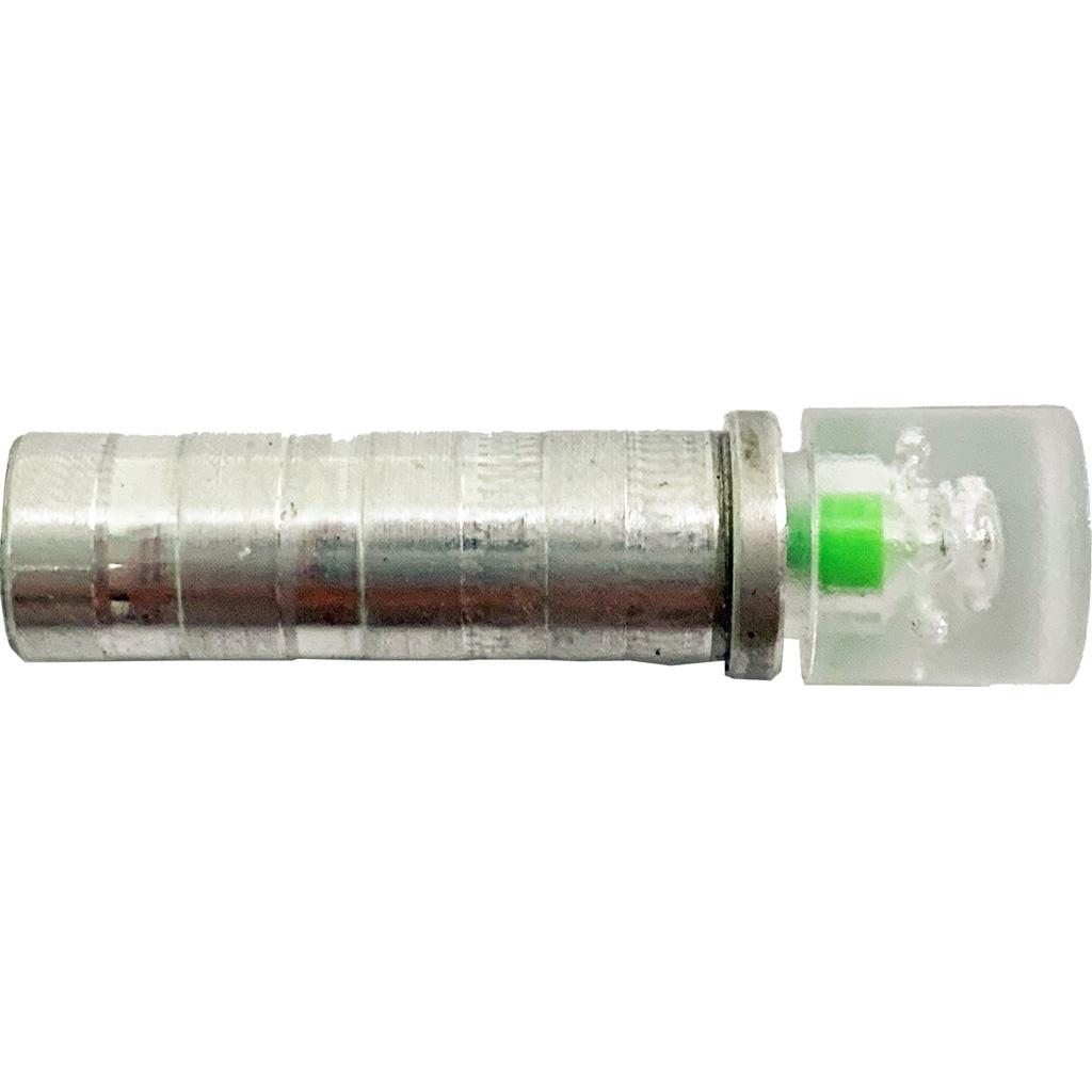 NuFletch Ignitor Nocks  <br>  Green.295 X Bolt 3 pk. Flat