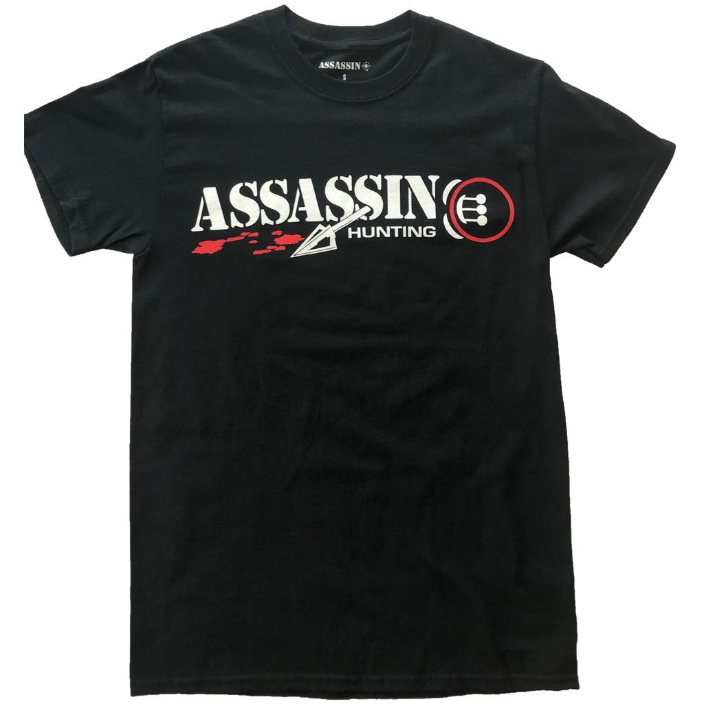 Assassin Bloodtrail T-Shirt   <br>  Black Large