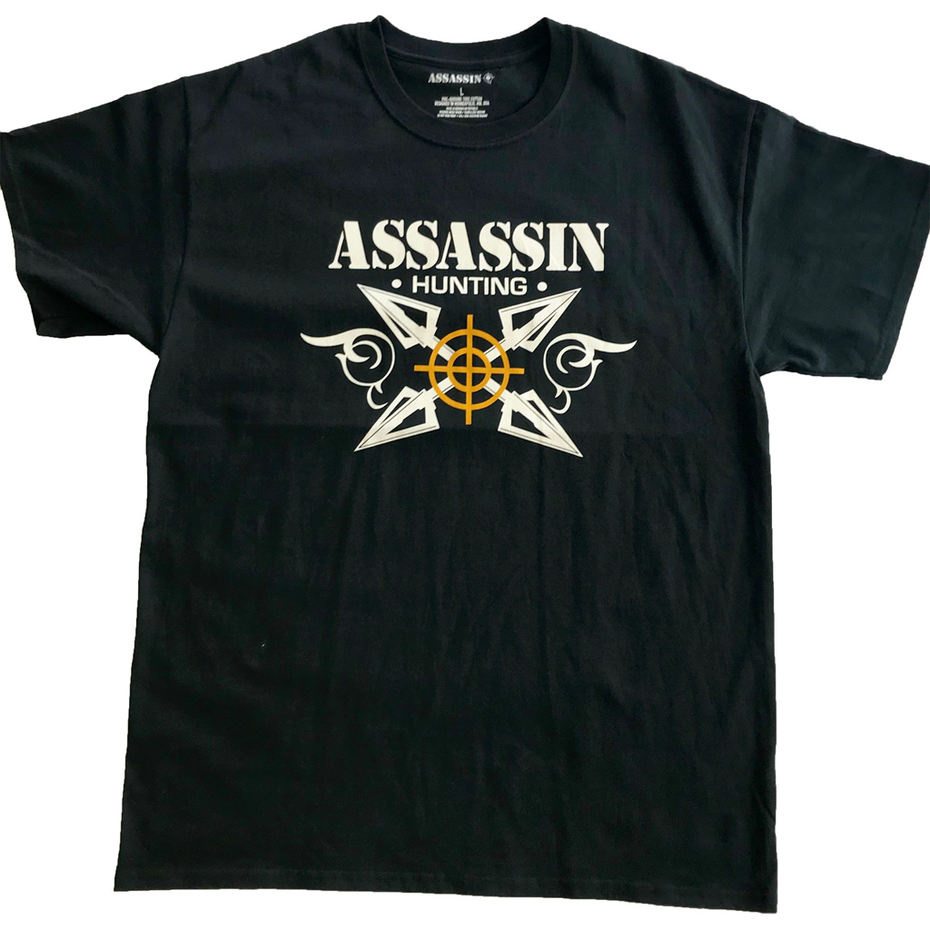 Assassin Broadhead T-Shirt  <br>  Black Large