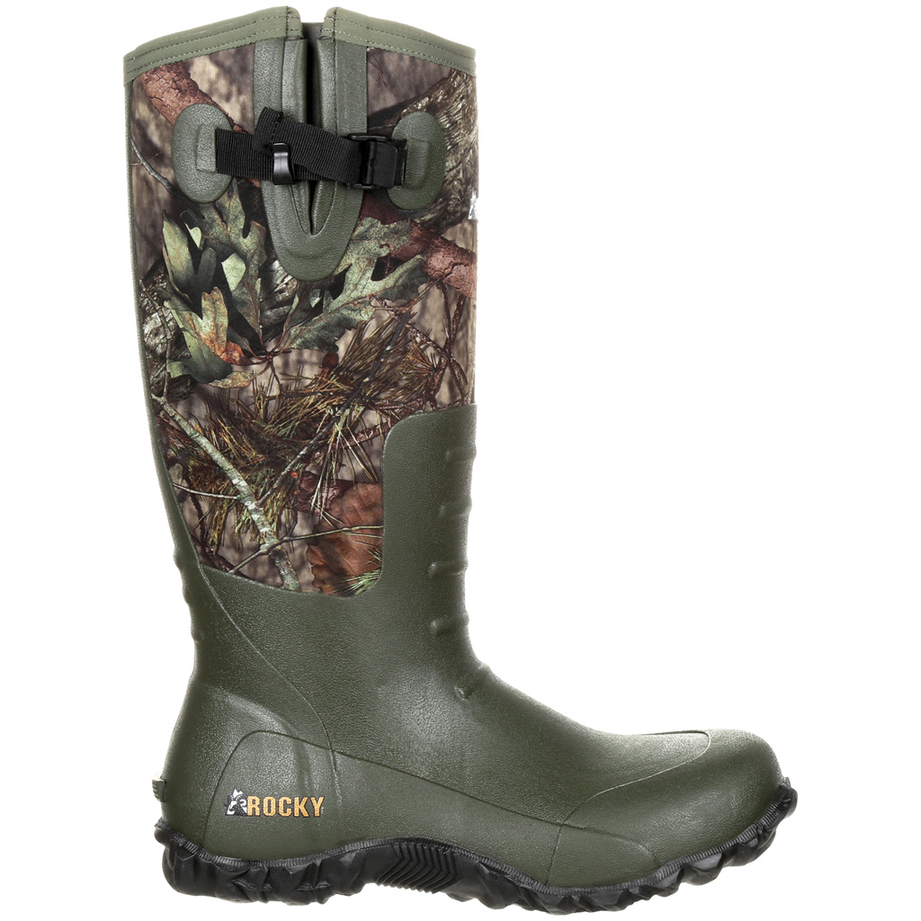 Rocky Core Rubber Boot  <br>  5mm Mossy Oak Country 9