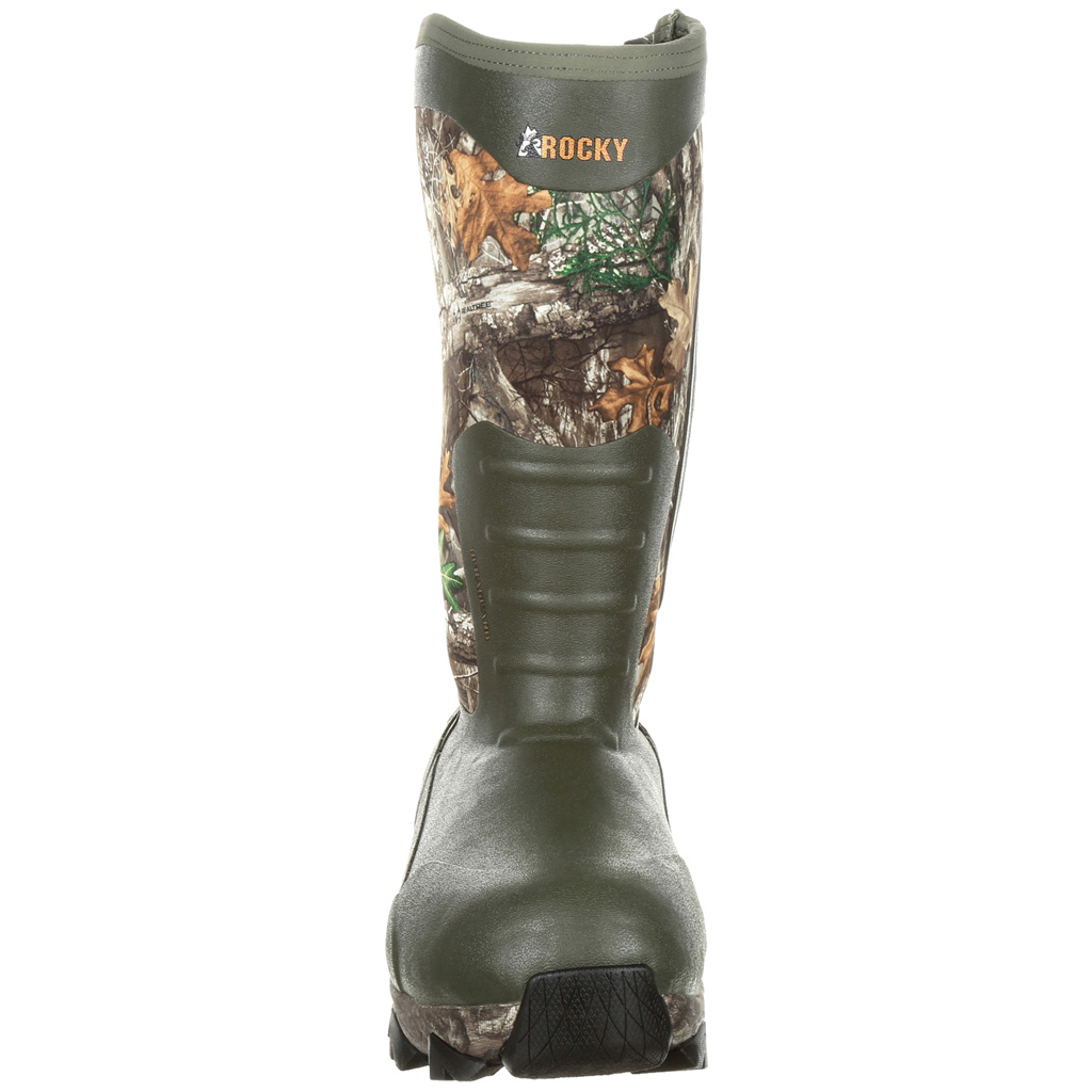 Rocky Claw Rubber Boot  <br>  1,200g Realtree Edge 10