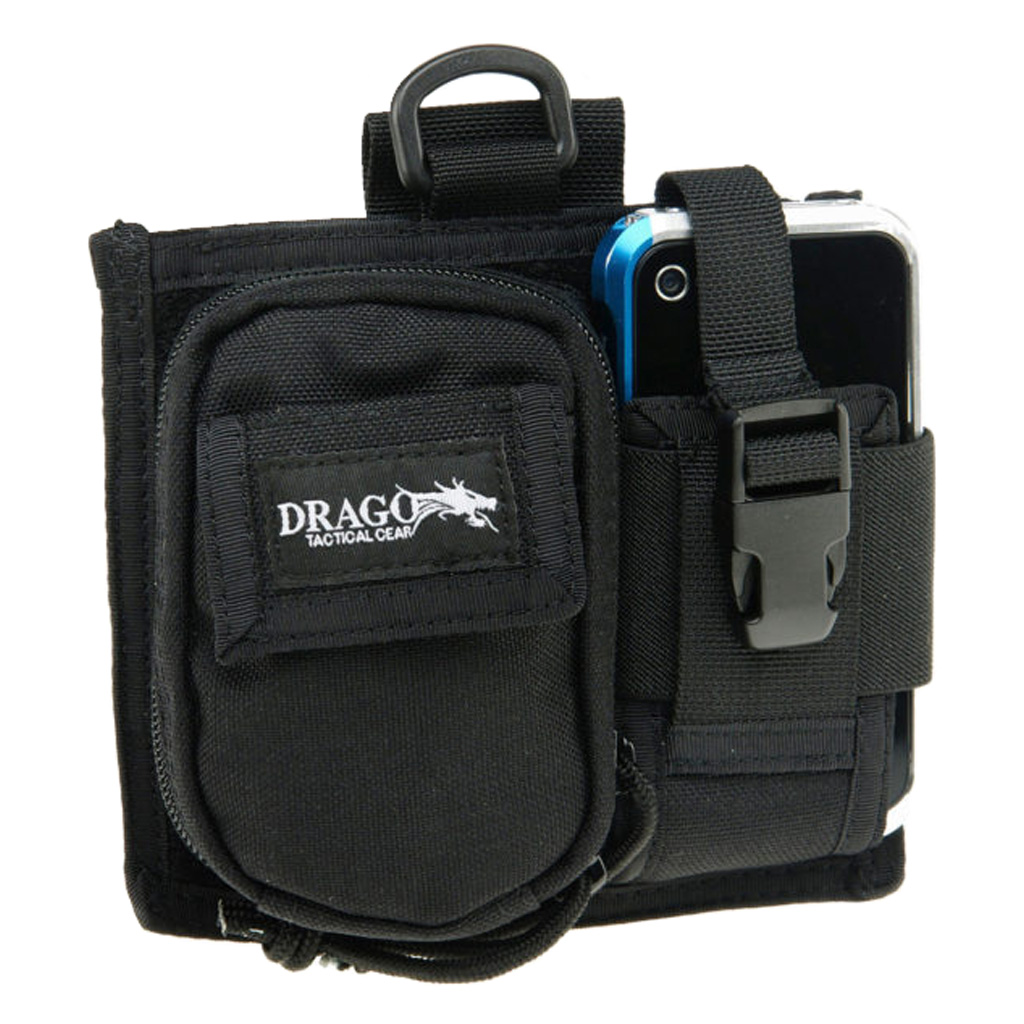 Drago Gear Recon Sidepack Phone/Camera Case  <br>  Black