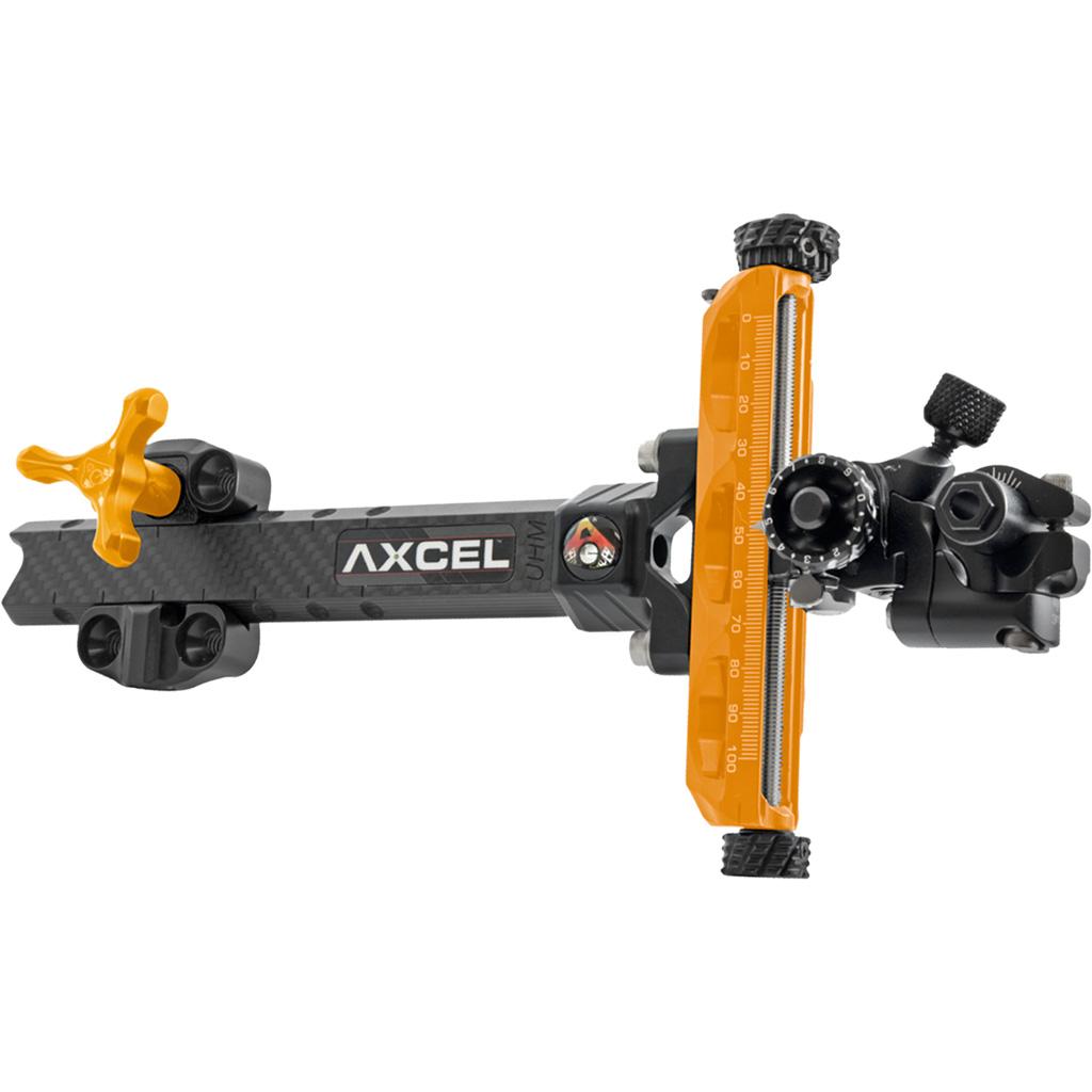 Axcel Achieve XP Compound Sight  <br>  Orange/ Black 9 in. RH