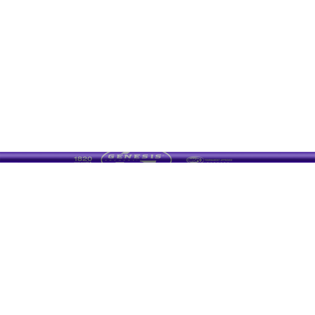 Easton Genesis Shafts  <br>  Purple 1820 1 doz.