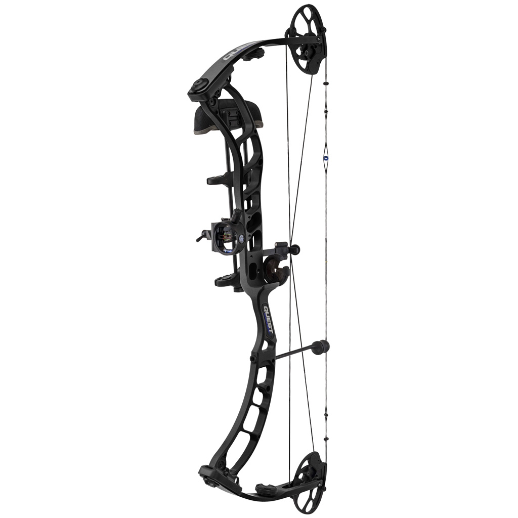 Quest Thrive Bow Package  <br>  Black 26-31 in. 60 lb. RH