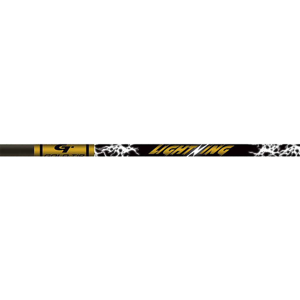 Gold Tip Lightning Shafts  <br>  28 in. 1 doz.