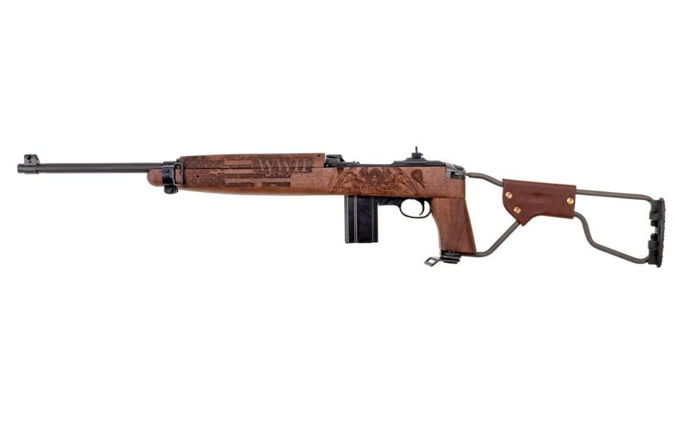M1 CARB 30CAL WWII PARATROOPER - 18 BBL|PARKERIZED/WALNUT|15RD