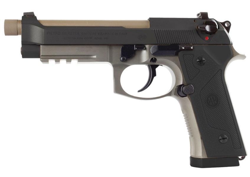 M9A3 9MM FDE/BK 5 17+1 DECOCK - FDE FRAME/BLK SLIDE | DECOCKER
