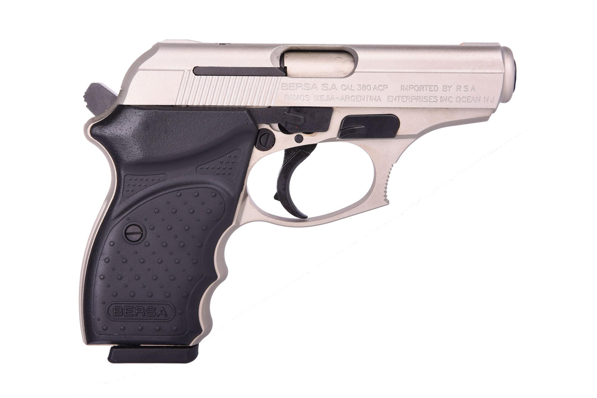 THUNDER 380 NICKEL 380ACP CC - 8+1   3.5   CONCEALED CARRY