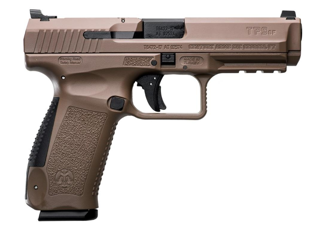 CANIK TP9SF 9MM FDE 10+1 4.46 - FULL ACCESSORY PACK