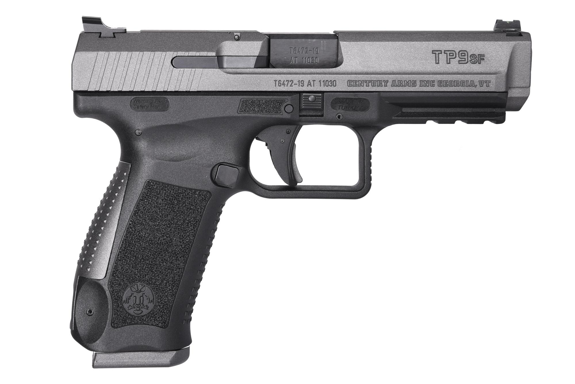 CANIK TP9SF ONE 9MM TUNG 18+1 - BLK/TUNGSTEN | ONE SERIES