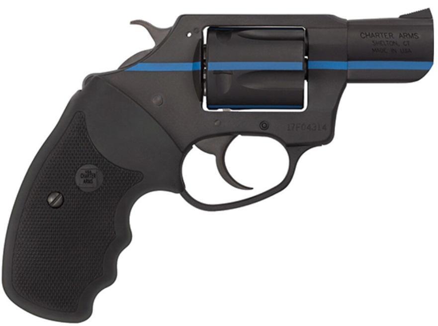 911 BLUE 38SPC BK/BLUE 2 - RUBBER GRIPS 2 5 SHOT