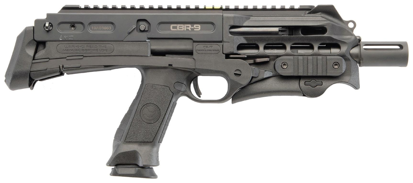 CHIAPPA CBR9 BLACK RHINO 9MM 9