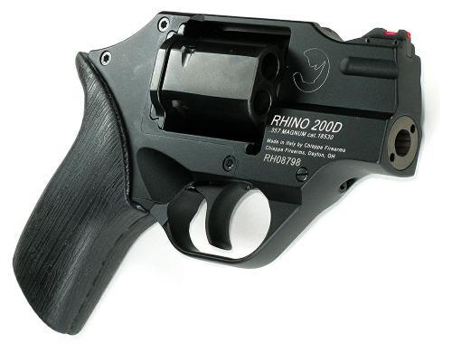 RHINO 200D 357/9MM 2 BLK DAO - CF340.237 | DUAL CYLINDER
