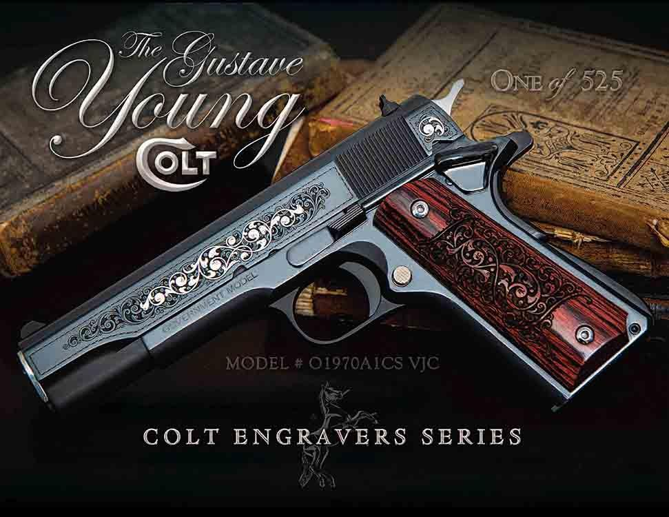 SER 70 GUSTAVE YOUNG 45ACP 5 - ONE OF 525