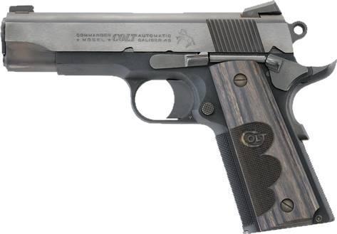 WILEY CLAPP COMMANDER 45ACP BL -