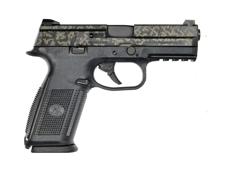 FNS-9 9MM DIGITAL CAMO 17+1   - STRIKER FIRED/NO MANUAL SAFETY
