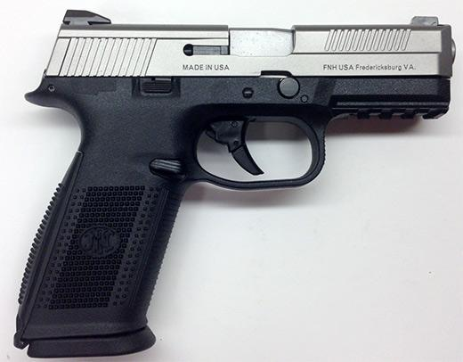 FNS-40 40 SS 14+1 FS          - STRIKER FIRED/NO MANUAL SAFETY