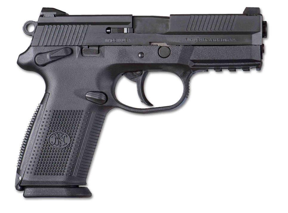 FNX-9 9MM BLK 17+1 NS SFTY    - NIGHT SIGHTS/MANUAL SAFETY