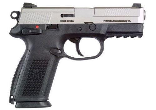 FNX-40 40SW SS 14+1 NS SFTY  - NIGHT SIGHTS/MANUAL SAFETY
