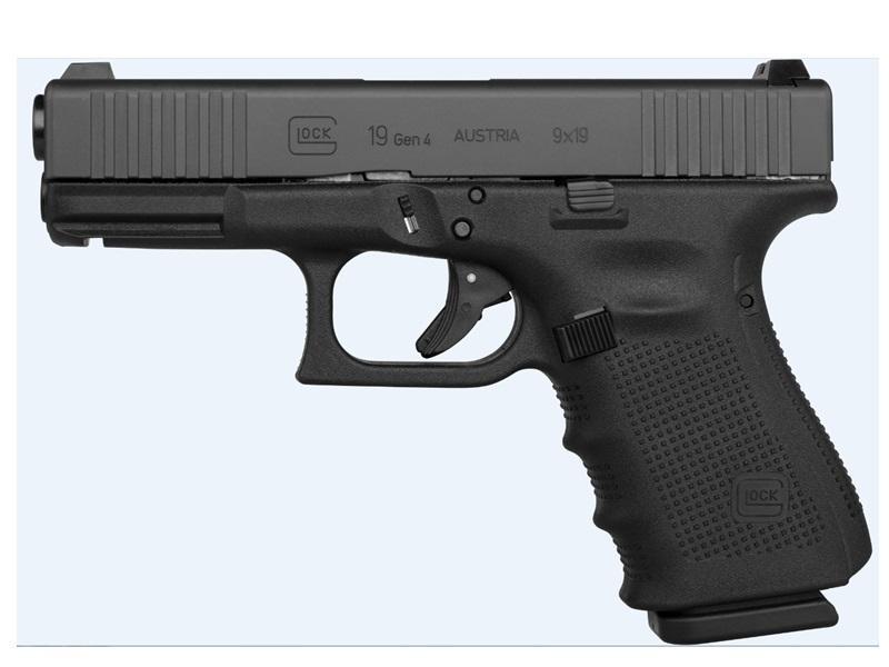 Glock PG1950731FS G19 Gen4 FS 9mm Luger Double 4.01