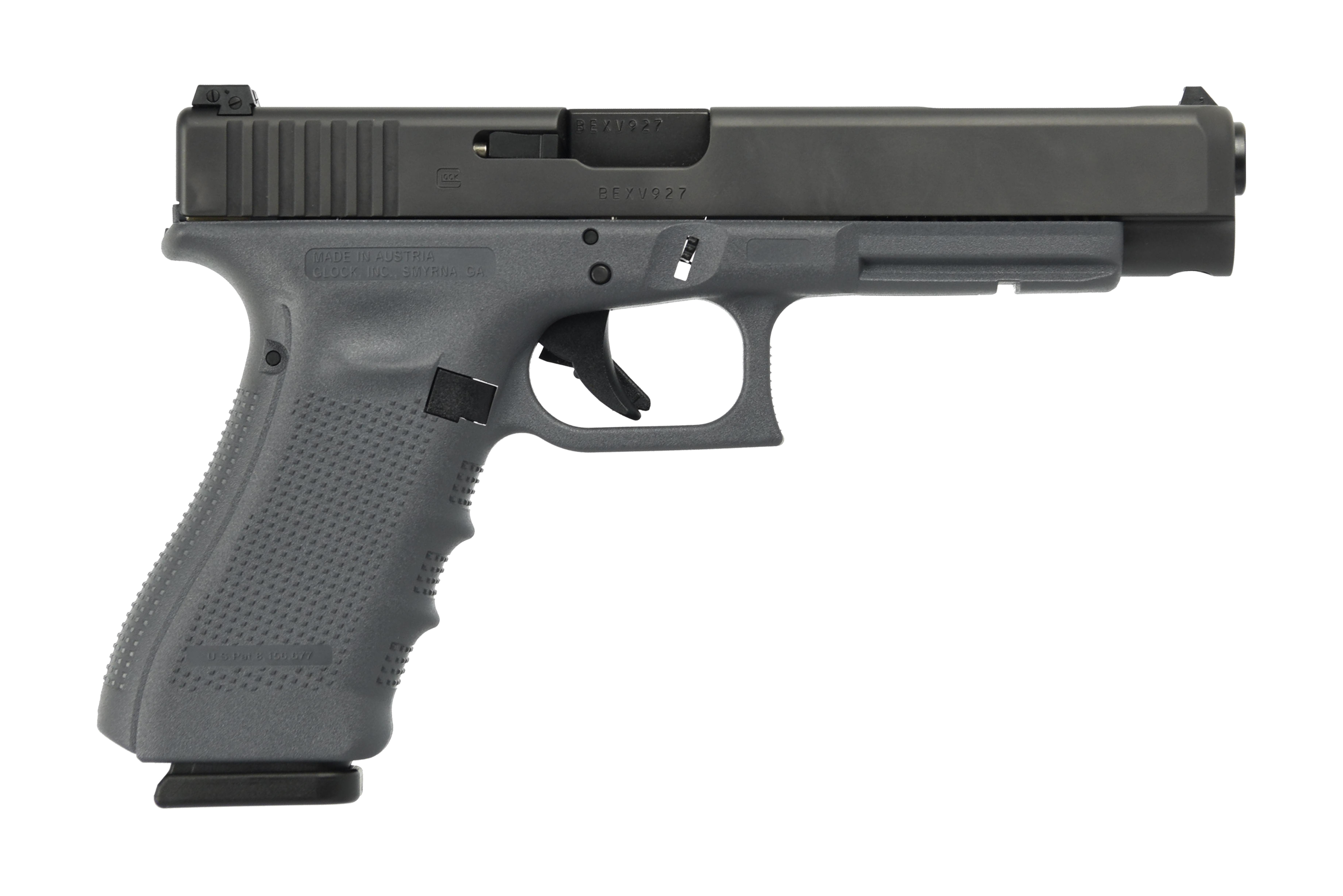 G35 G4 GRAY 40SW 15+1 5.3 AS - 3-15RD MAGS | EXTENDED SLIDE