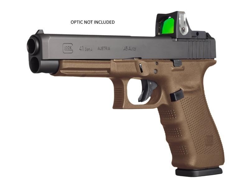 G41 G4 FDE 45ACP 13+1 MOS AS  - 3-13RD MAGS|MODULAR OPTICS SYS