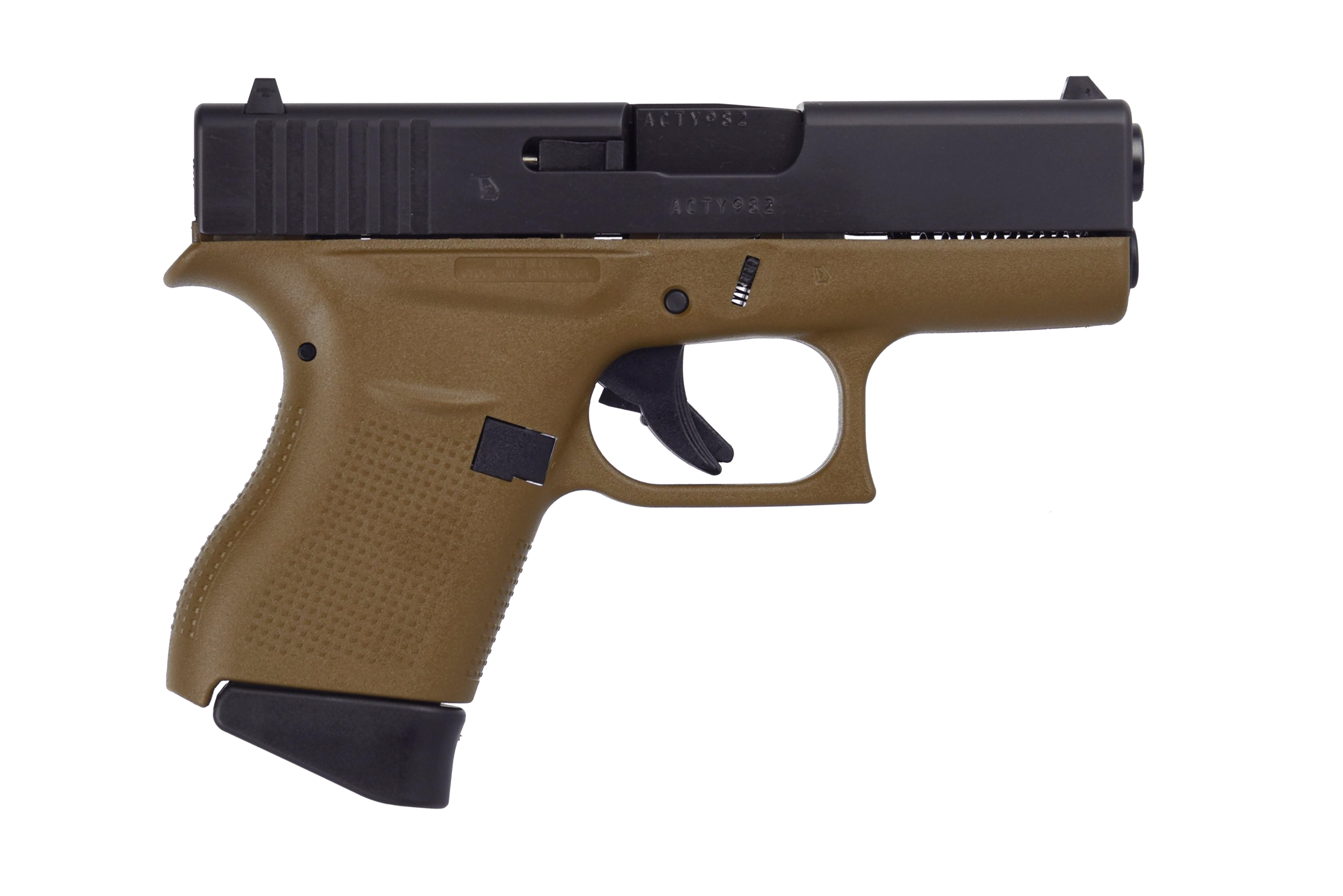 G43 G3 FDE 9MM 6+1 3.39 FS - TWO 6RD MAGAZINES