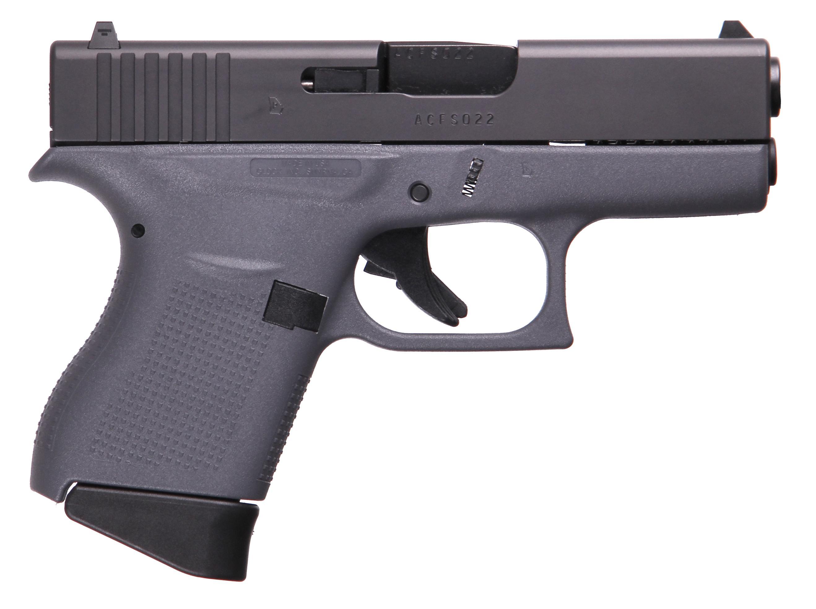 G43 G3 GRAY 9MM 6+1 3.39 FS - TWO 6RD MAGAZINES