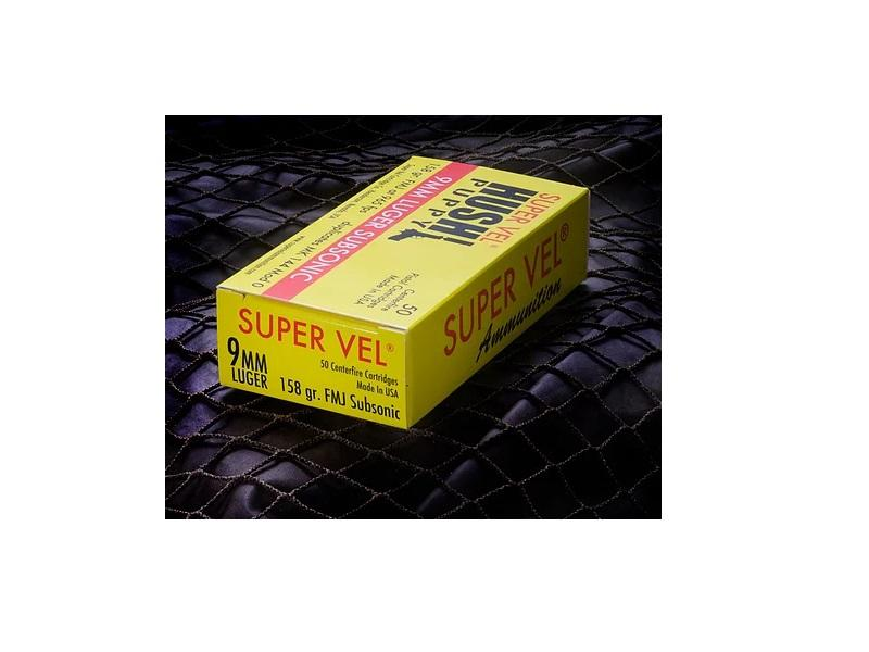 SUPERVEL 9MM 158GR FMJ SUB NEW - MK 144 MOD 0 SUBSONIC 500RDS
