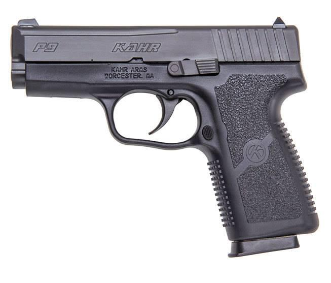 P9 9MM BLACK SS/POLY 3.5 7+1 - INCLUDES 2 MAGAZINE