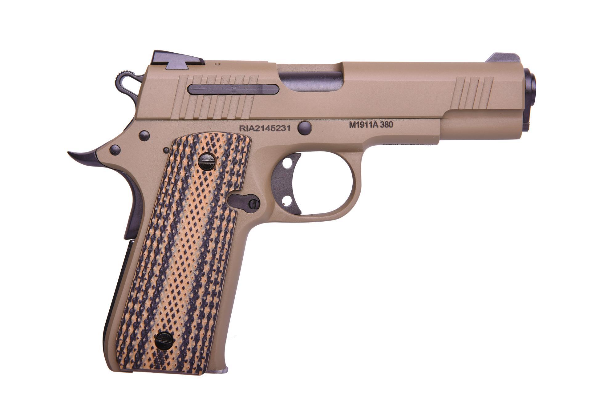 RIA 380ACP FDE/BROWN 3.75 7+1 -