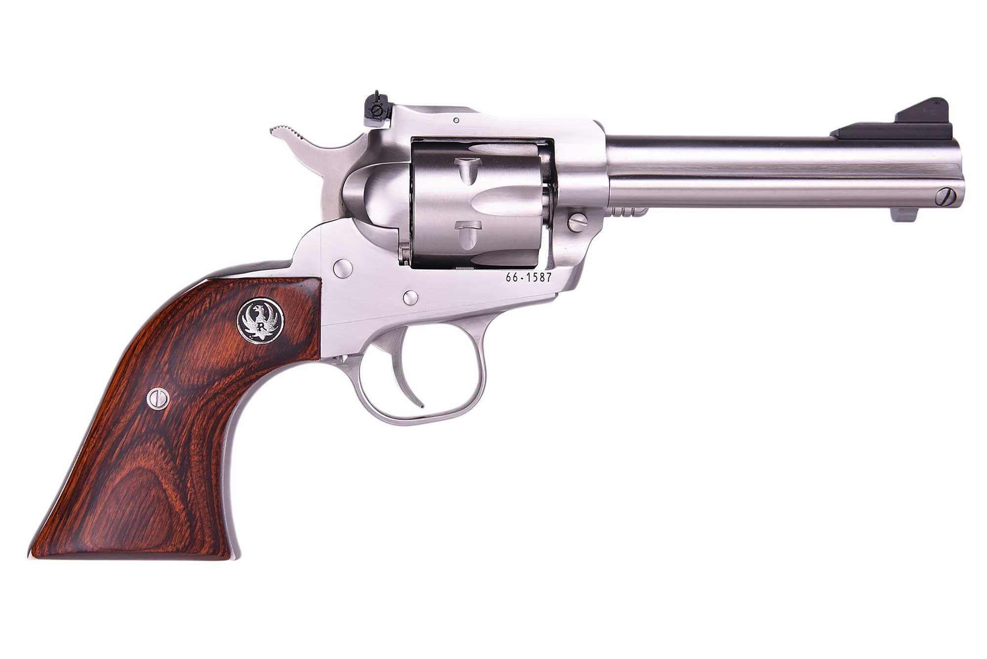SINGLE SIX 22-22MAG 4-5/8SS AS - 0627  LIPSEY EXCLUSIVE
