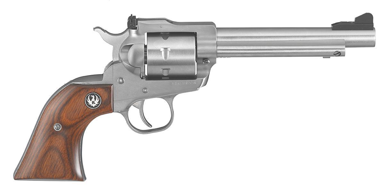 SINGLE SEVEN 327FED 5-1/2 SS - 8160 7 SHOT/ADJ SGTS/WOOD GRIP