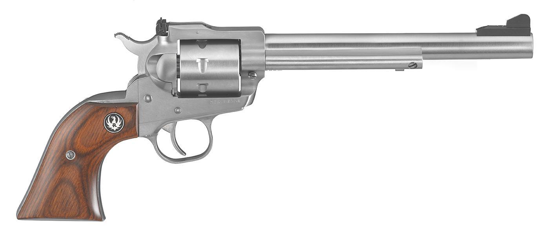 SINGLE SEVEN 327FED 7-1/2 SS - 8162 7 SHOT/ADJ SGTS/WOOD GRIP