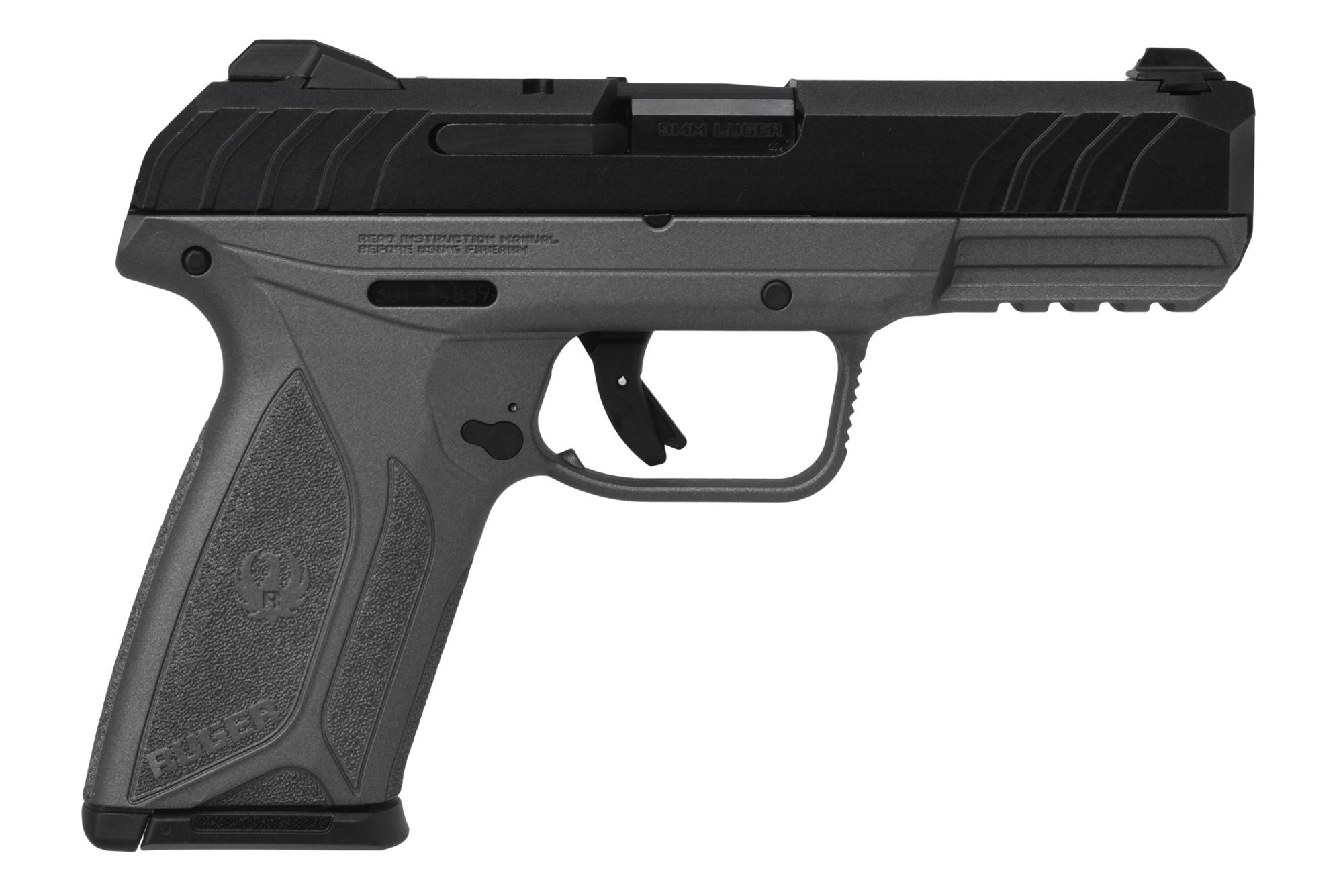 SECURITY-9 9MM BK/TUNG 4 15+1 - 3823 | INCLUDES 2 MAGAZINES