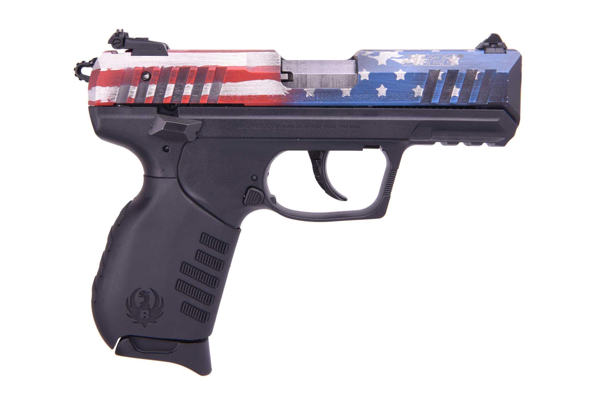 SR22 US FLAG 22LR 3.5 BL AS - 3642